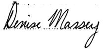 Dr. Denise Massey